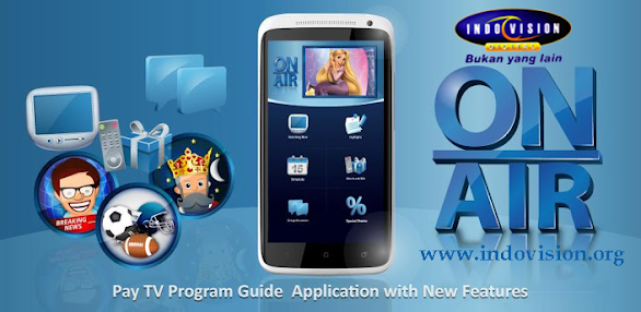 Download Aplikasi ON AIR Indovision
