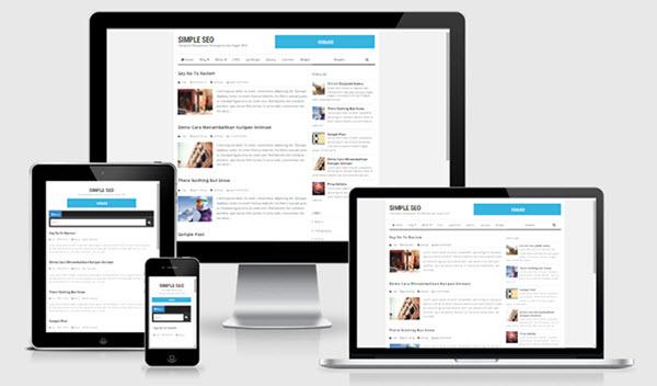 Simple SEO Kişisel Blogger Teması