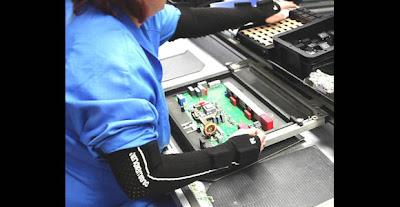 Mangas electrónicas para controlar a los trabajadores