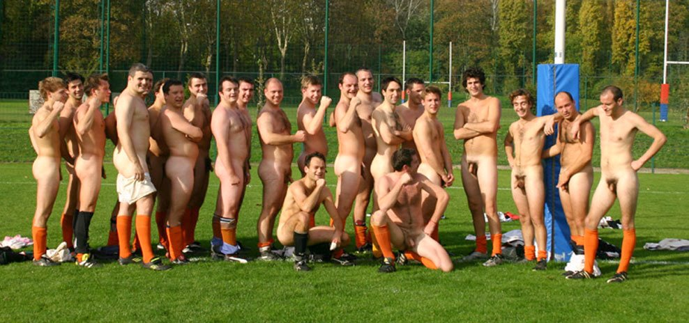 Hockey naked