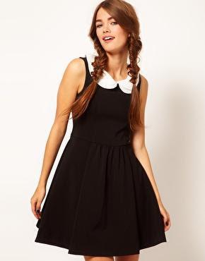 B+AB Collar Dress