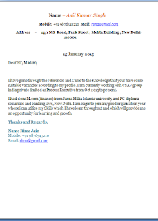 how to write cover letter for job - How To Write A Cover Letter Email