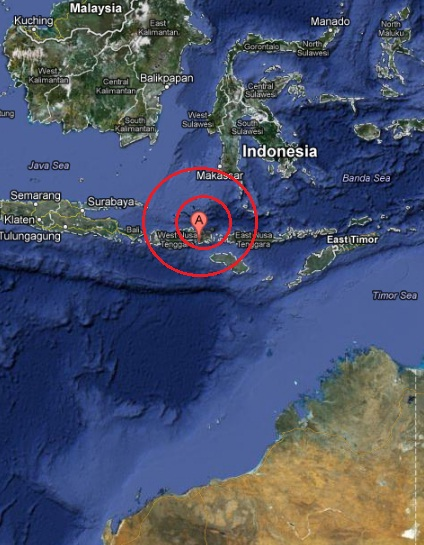 sumbawa region, indonesia earthquake 2013 MAY 07