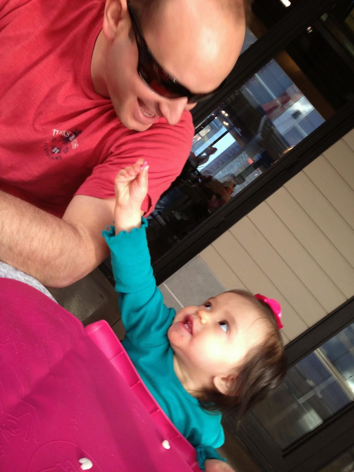 Feeding Daddy - Spring 2014