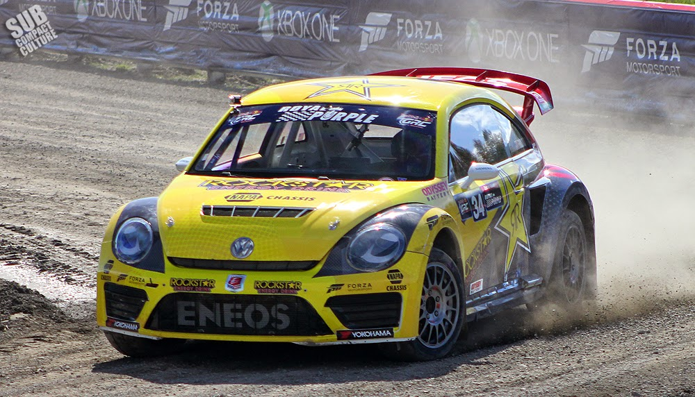 GRC VW Beetle driven by Tanner Foust