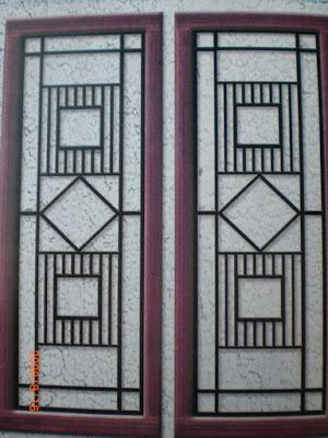 Desain jendela rumah minimalis-teralis