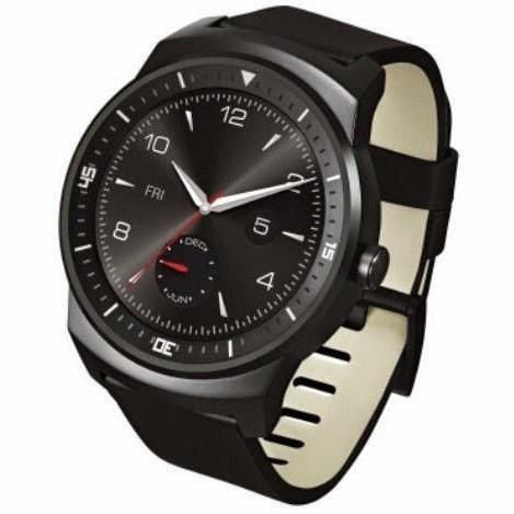 O smartwatch LG G Watch R com smartwatch da Motorola Moto 360