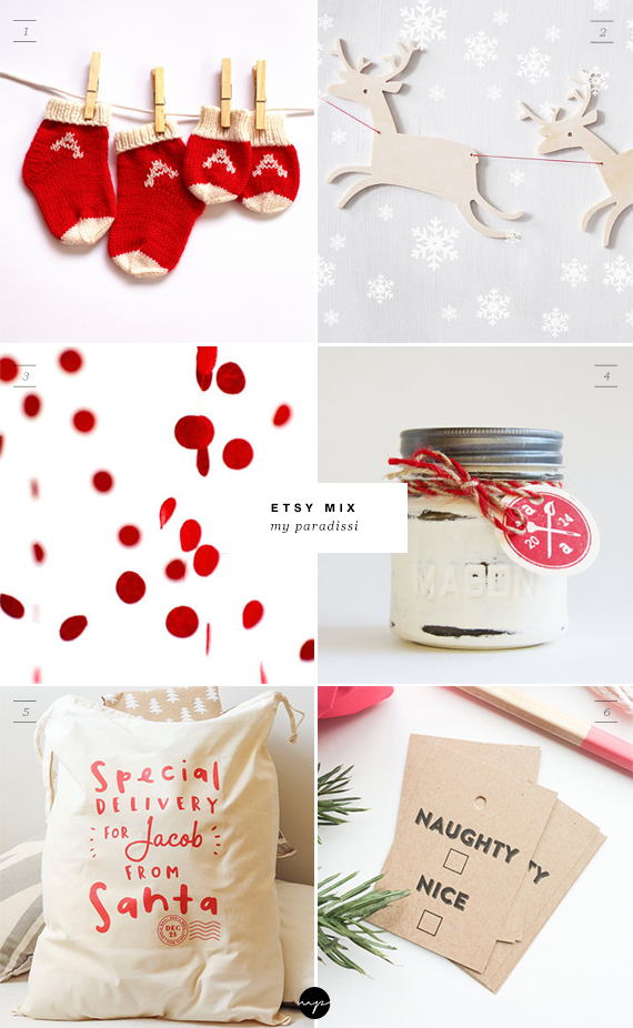 ETSY MIX of the week Christmas Edition | My Paradissi