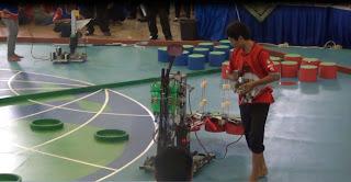 Robot Pemadam Api - Teknik Elektro UNEJ