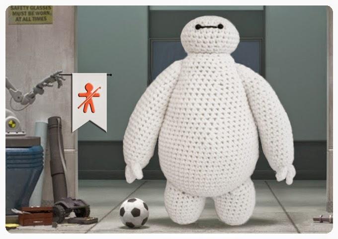 Crochet Amigurumi Baymax Pattern : Pequena recopilacion de patrones de amigurumis Terapia ...