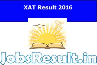 XAT Result 2016