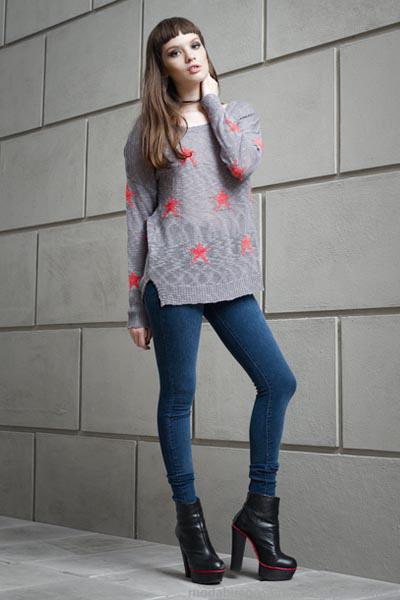 Moda invierno 2014 Vov Jeans.