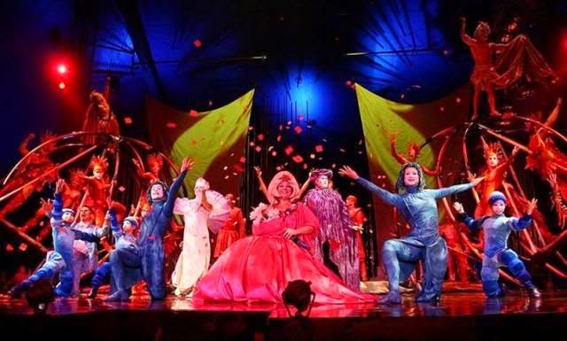 "Fechas en Diciembre de 2014 de Cirque Du Soleil ""JOYA"""