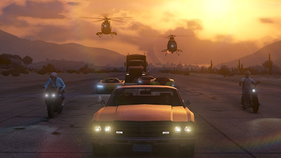 GTA V online gameplay cop cars