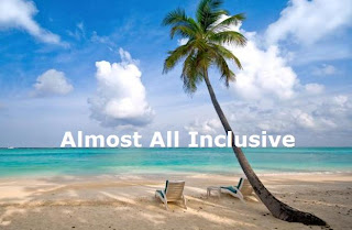 Almost All-Inclusive vacations resorts definition meaning