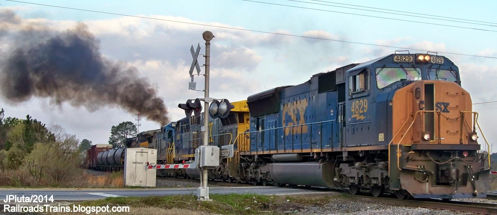 Railroad Freight Train Locomotive Engine Emd Ge Boxcar
