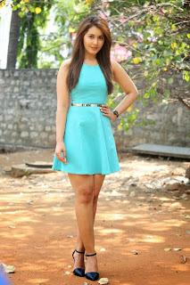 Actress Rashi Khanna  Pictures in Short Dress at Jil Trailer Launch  5.jpg