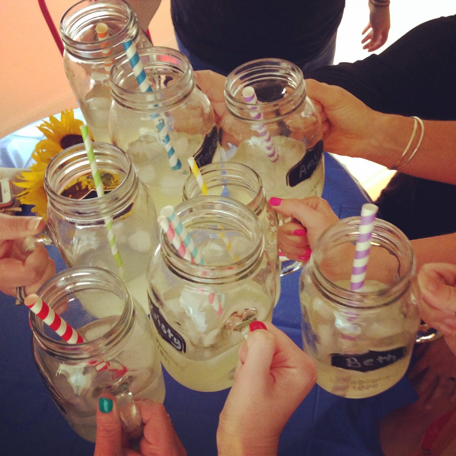 bachelorette party, bachelorette weekend, bachelorette party favors, mason jars