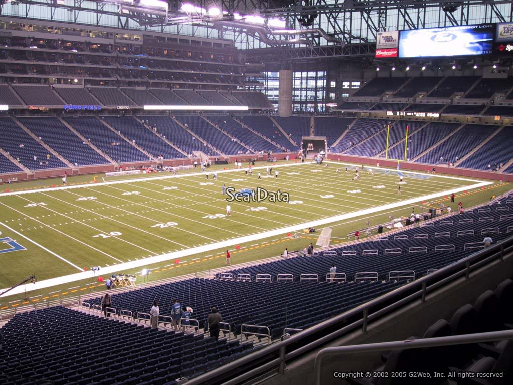 Ford Field Home Of The Detroit Lions Nfl Football Team