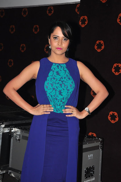 Hot Anasuya Stills Courier Boy Kalyan Audio Launch