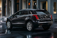 Cadillac XT5 (2017) Rear Side