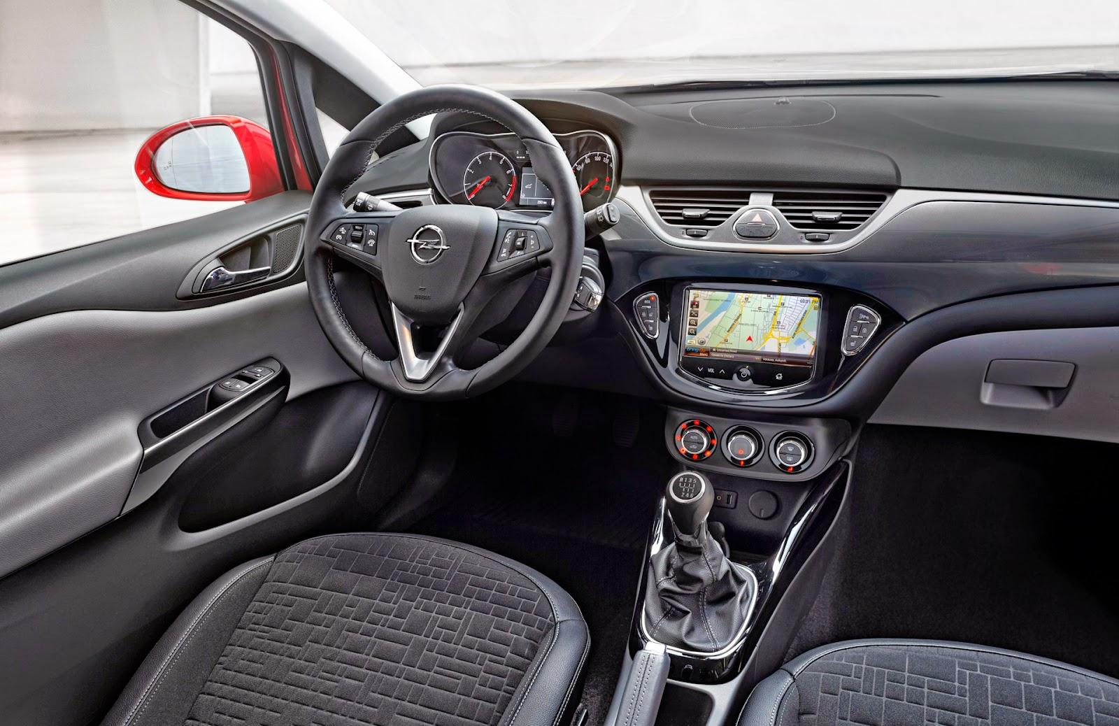 Opel Corsa 2015 interni