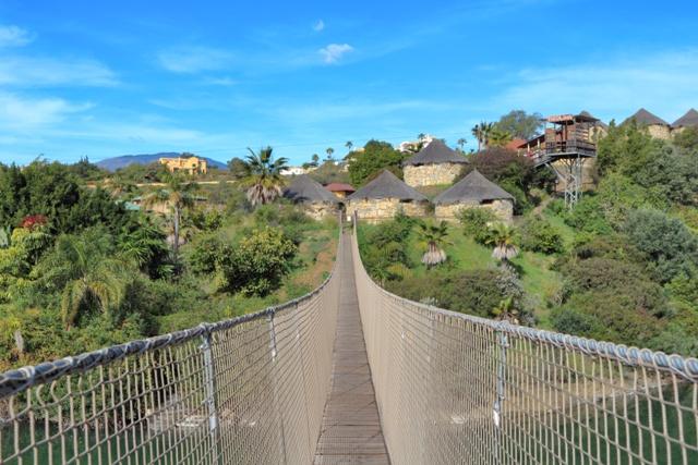 Puente colgante del Selwo Aventura Estepona
