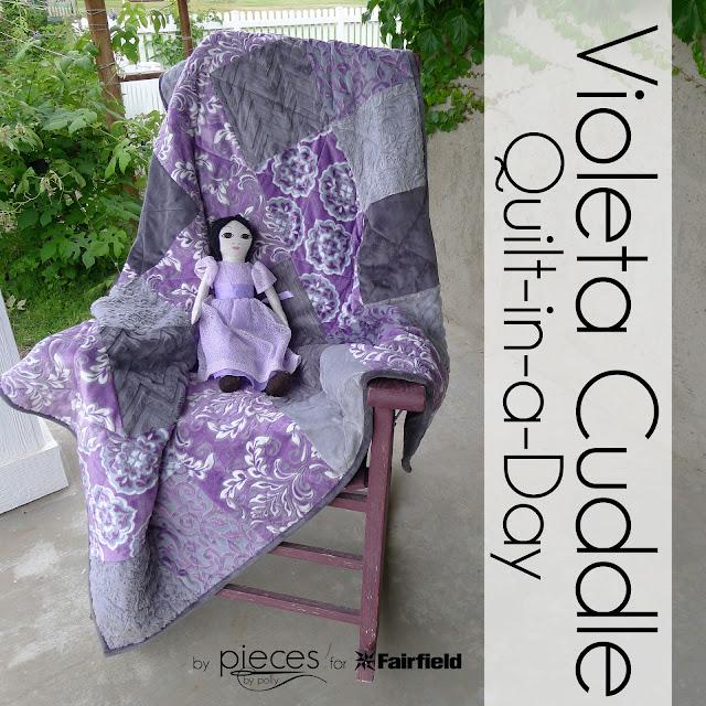 Very Violeta Cuddle Quilt
