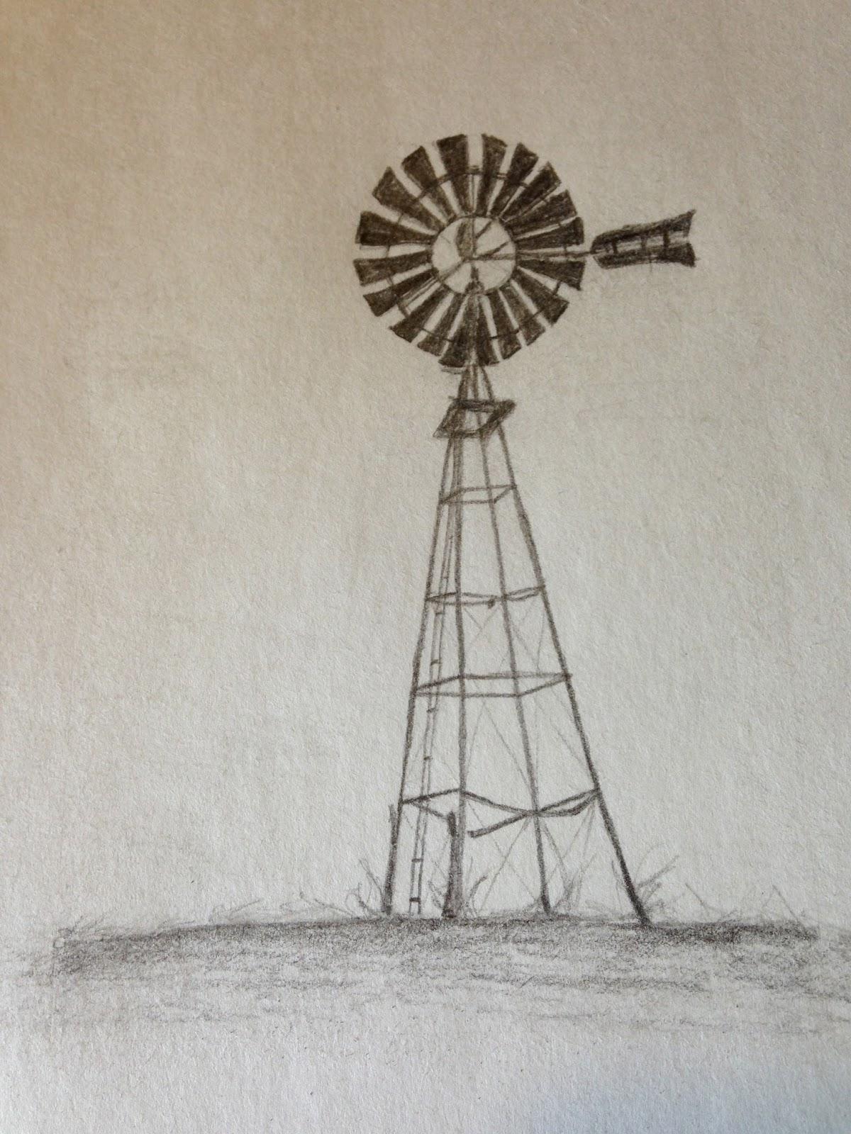 farm windmill drawing. Farm Windmill Drawing R