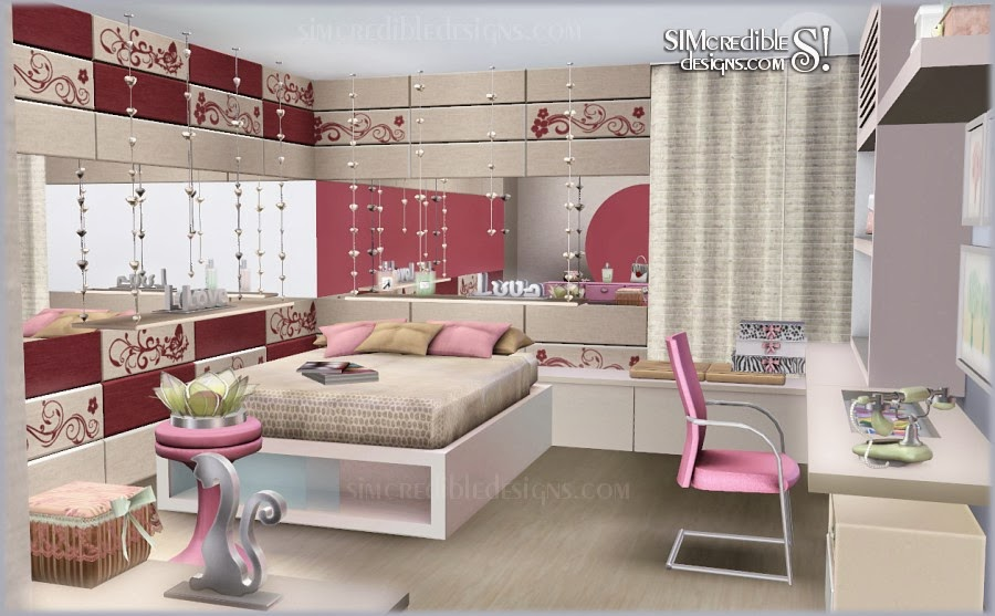 My Sims 3 Blog Tutti Frutti Donation Teen Bedroom Set Free Clutter