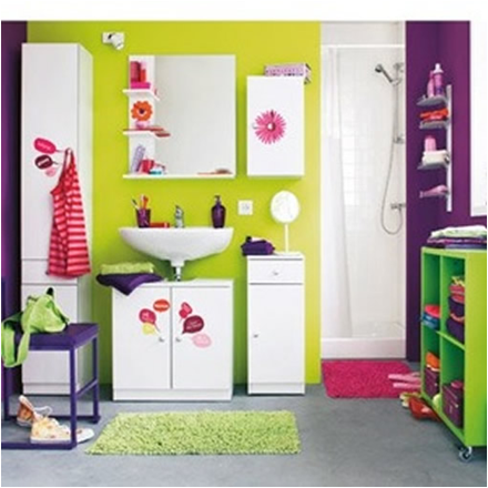 Young Girls Bathroom Ideas | Design Inspiration of Interior,room