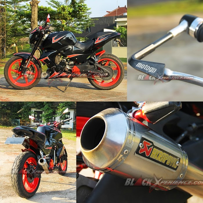 Modifikasi Honda Tiger