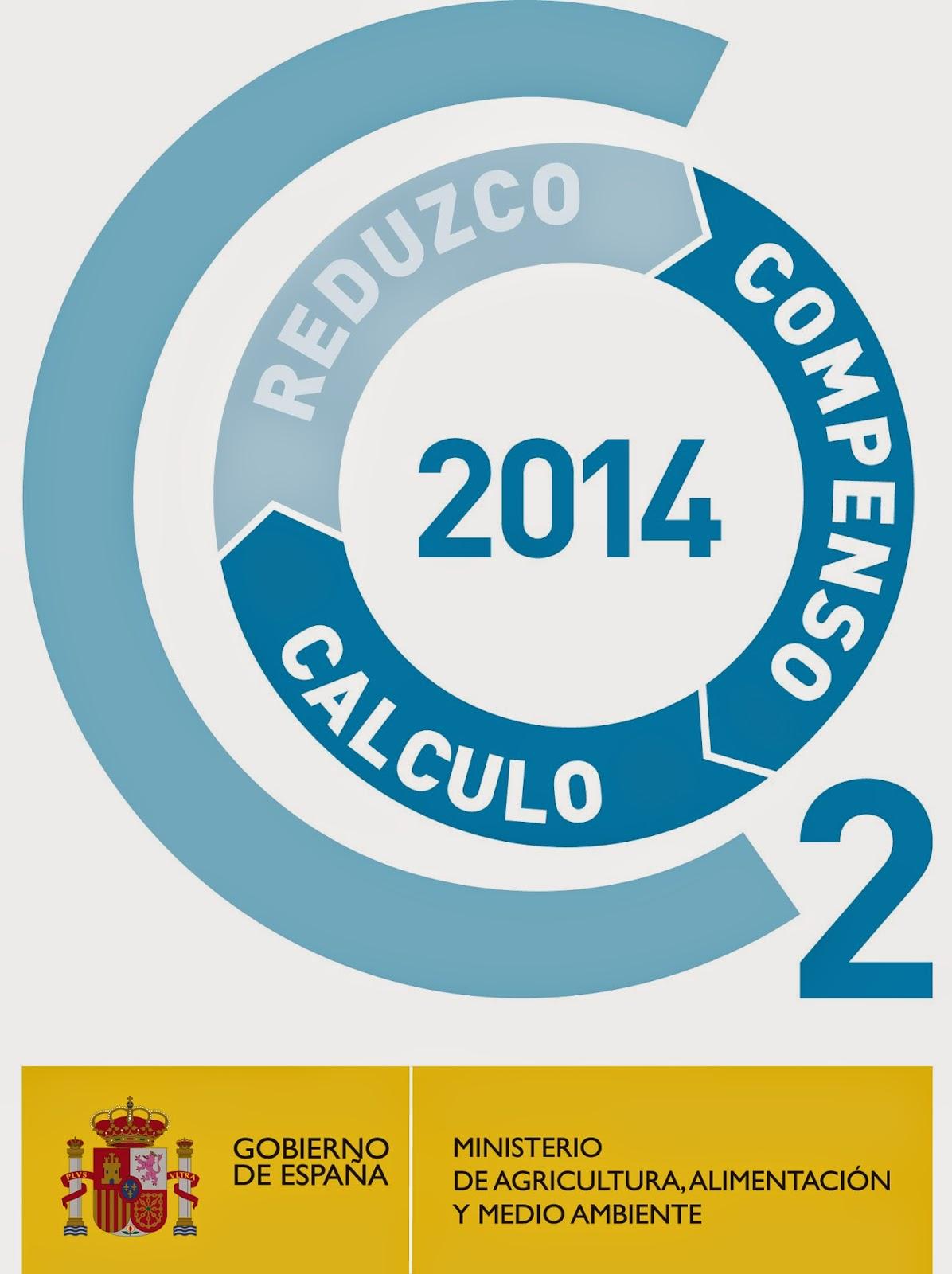 registro huella de carbono españa sello seccion a + c: calculo y compenso