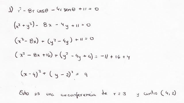 Transformaciones de Coordenadas Polares a Coordenadas Rectangulares: Ejemplos