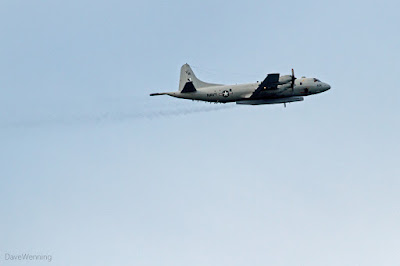 P-3 Orion Aircraft over Deception Pass State Park