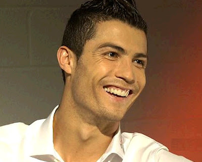 Cristiano Ronaldo during an interview