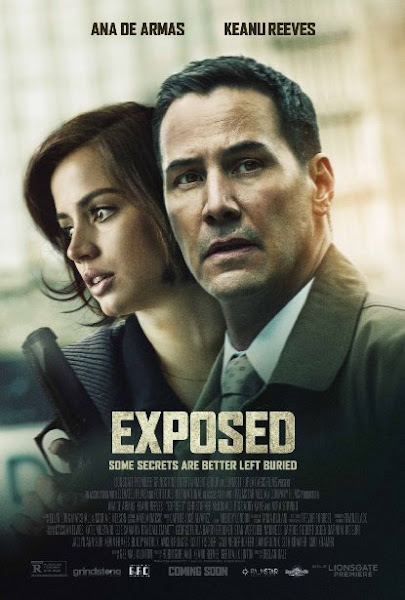 Poster Of Exposed 2016 720p English HDRip Full Movie