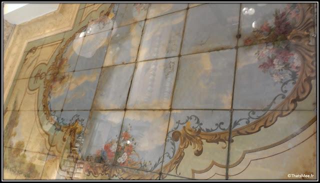 Heven concept store Boulogne ancienne boulangerie fresque mosaïque ciel époque