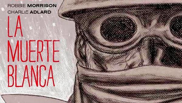 """Banner de """"La Muerte Blanca"""""""