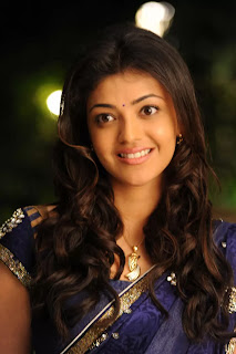 Kajal Aggarwal in Spicy Saree Picture Collection