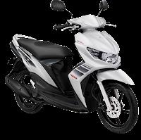 Gambar Motor Yamaha Mio Soul GT Putih (Lunar White)