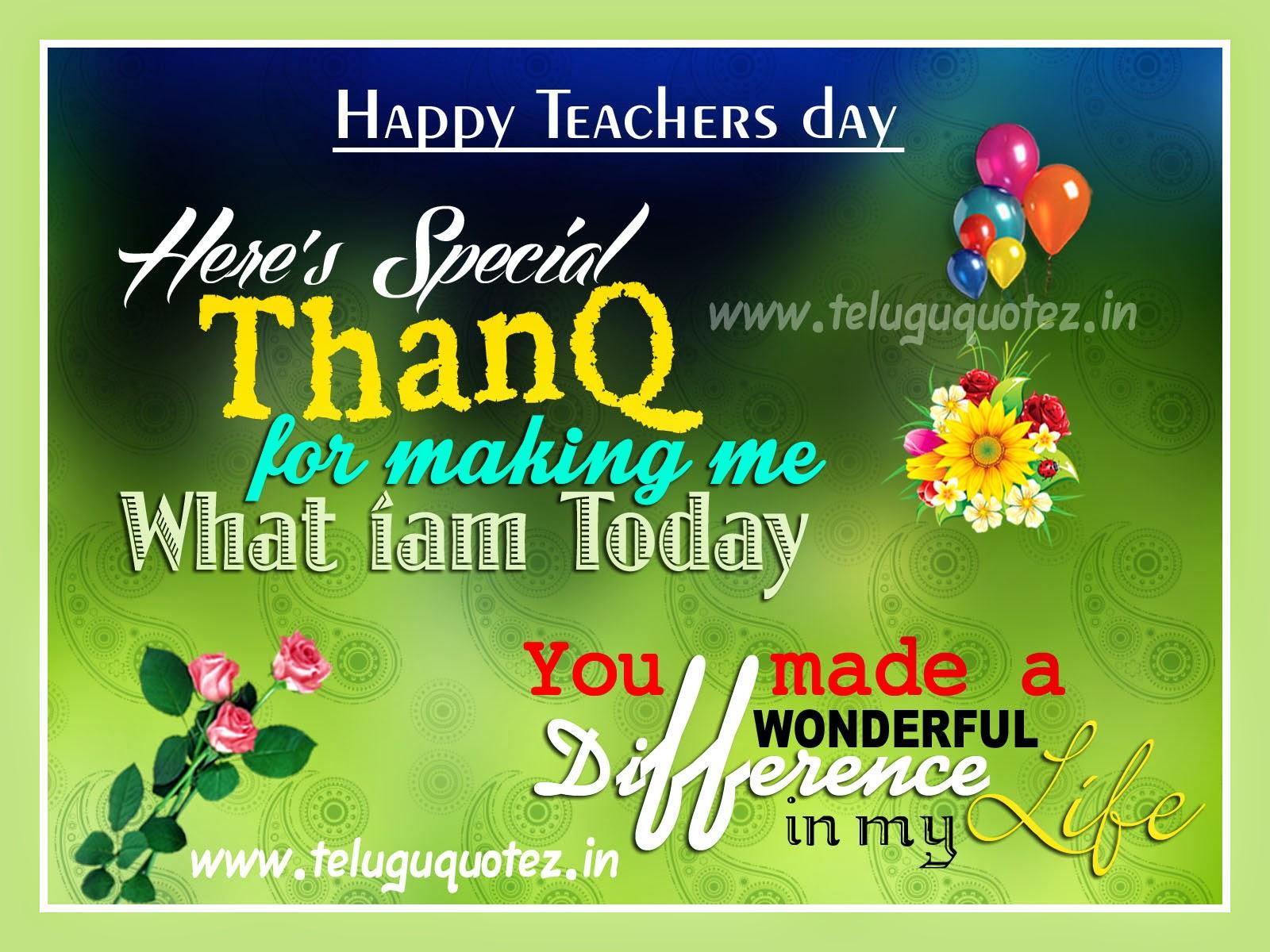 Latest international teachers day english quotes teluguquotez