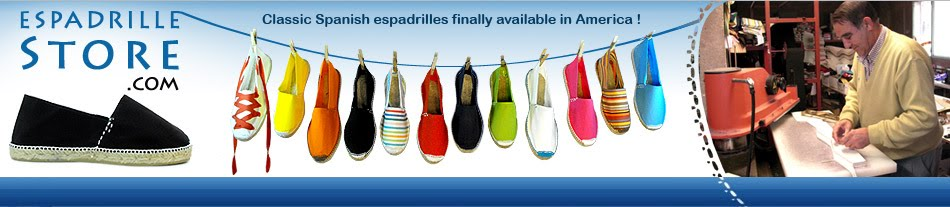 Espadrilles from spain - alpargatas- original jute sandals hand sewn
