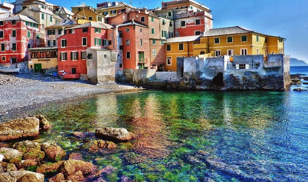 италия лигурия пляж