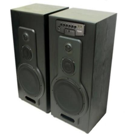 Speaker Aktif Sharp CBOX Terbaru USB Dan Bluetooth
