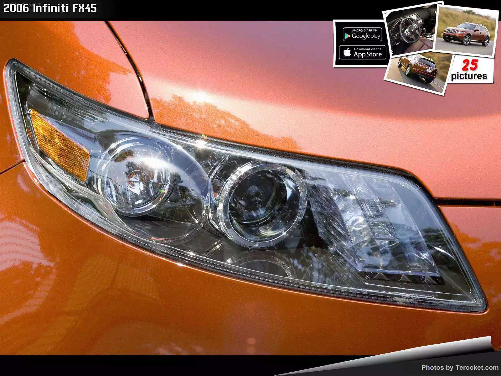 Hình ảnh xe ô tô Infiniti FX45 2006 & nội ngoại thất