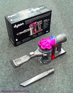Dyson Akkusauger DC34