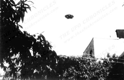 Flying Saucer Over New York, New York 8-5-1967