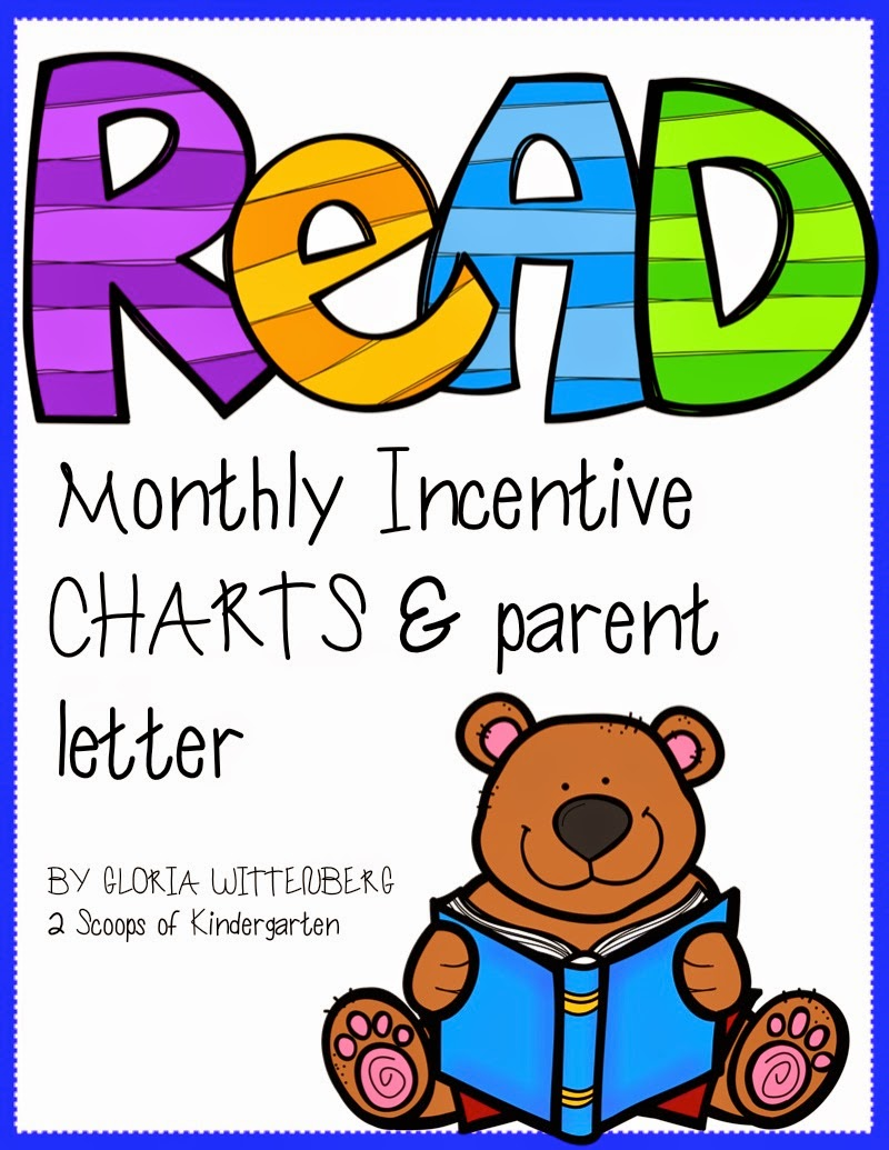http://www.teacherspayteachers.com/Product/Monthly-Reading-Incentives-with-Editable-Parent-Letter-1324400