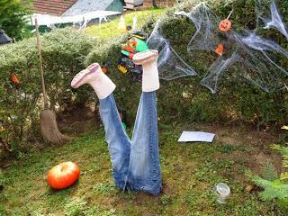 D co fait main cr er une d co pour le jardin halloween - Deco jardin fait main caen ...
